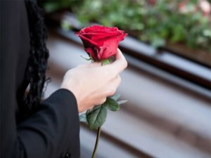 Помощь овоенкомата ппри похоронах жены ветерана